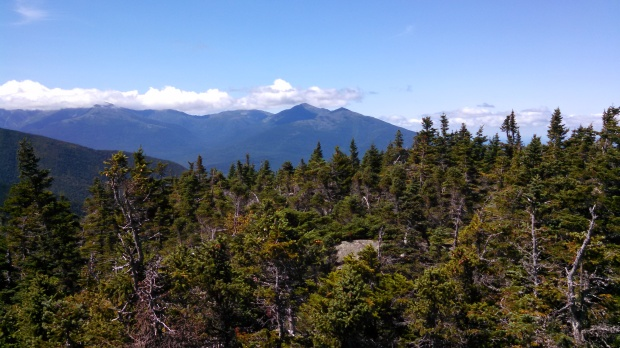 View of Presidentials from Moriah