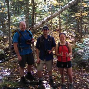 John, Greg, and me