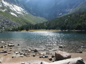 Katahdin's tranquil Chimney Pond