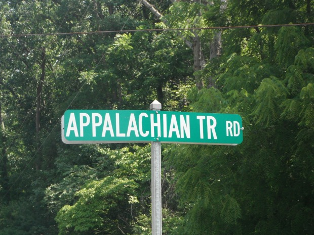 A street sign in the Mid-Atlantic