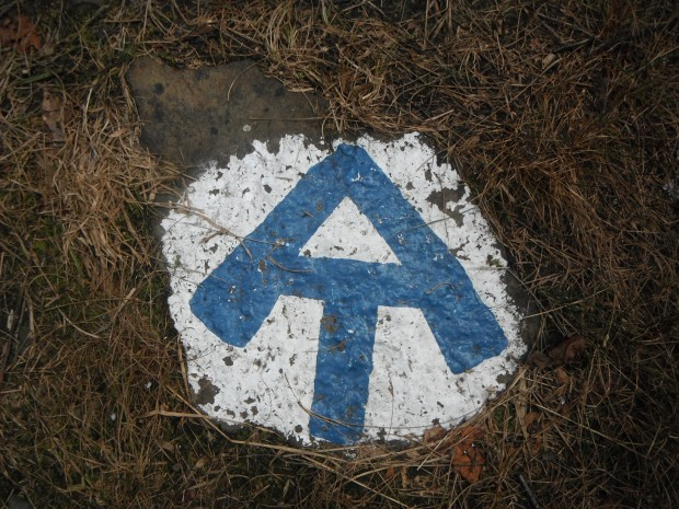 The Appalachian Trail symbol