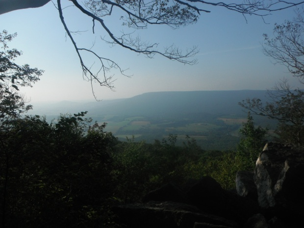 Looking out across the Cumberland Valley