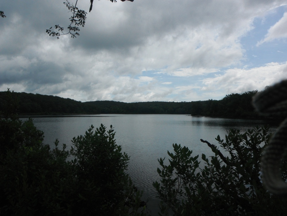 Sunfish Pond, the southernmost glacial lake on the AT
