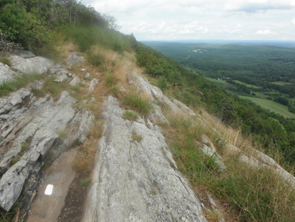 Walking slope-side