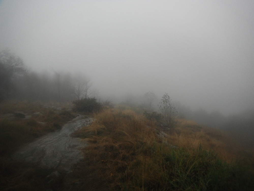Another rainy ridgeline