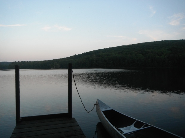 The dock of Upper Goose Pond