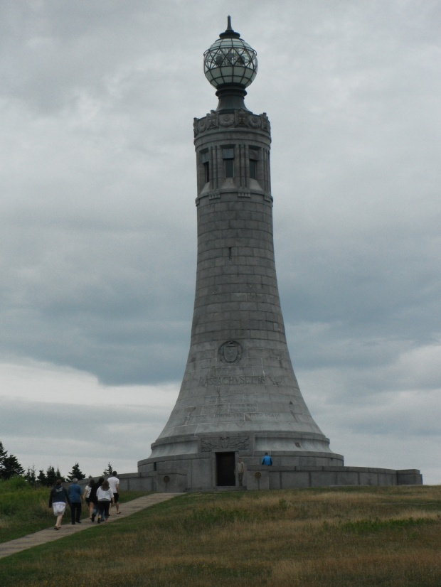 The lighthouse atop Mount Greylock