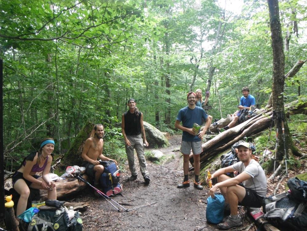 More thru-hikers than I'd seen since Georgia