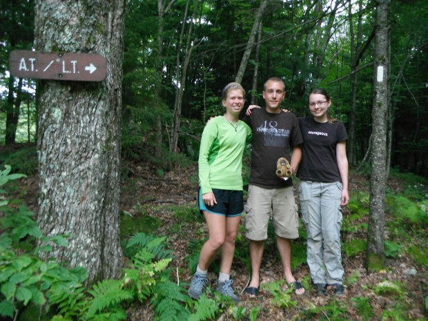 Friends from Hubbard Brook who hiked with me for a day