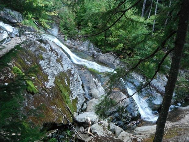 The cascading Beaver Brook
