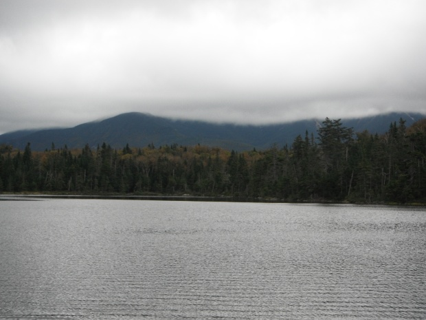 Franconia Ridge from Lonesome Lake