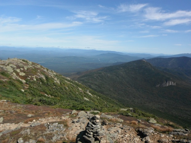 Looking out on the White Mountain National Forest