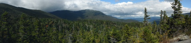 Panorama from Lowes Bald