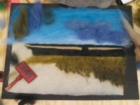 Felting the grasses