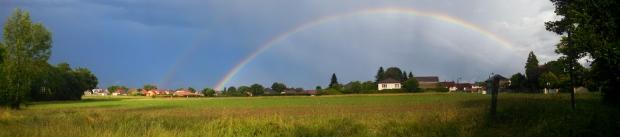 Rainbow in Lescar