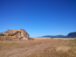 Ruins on the Camino Aragones