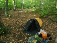 A quiet campsite