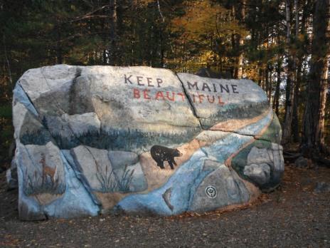 """Keep Maine Beautiful"""