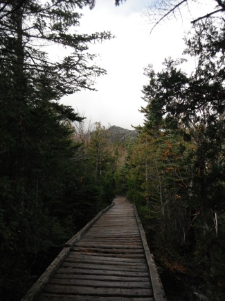 The gentle walk at the base of Katahdin