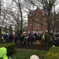 Gathering for the March for Science